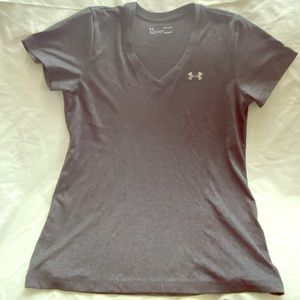 Under Armour Dri Fit Gray TShirt Med 10/12